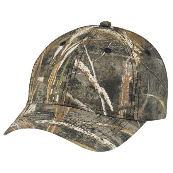 Realtree MAX-5® - 6Y440M Brushed Polycotton Camo Cap | Hats&Caps.ca