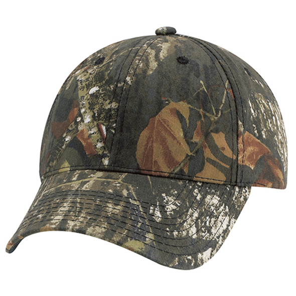 Mossy Oak Break Up® - 6Y630M Realtree Poly/Cotton Camo Full-Fit Cap | Hats&Caps.ca