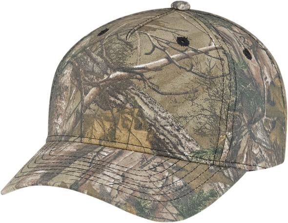 Realtree Xtra® - 6Y850M Realtree Poly/Cotton Camo Pro-Look Cap | Hats&Caps.ca
