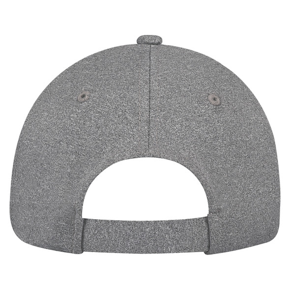 Charcoal - Back, 4J630M Polyester Heather & Spandex | Hats&Caps.ca