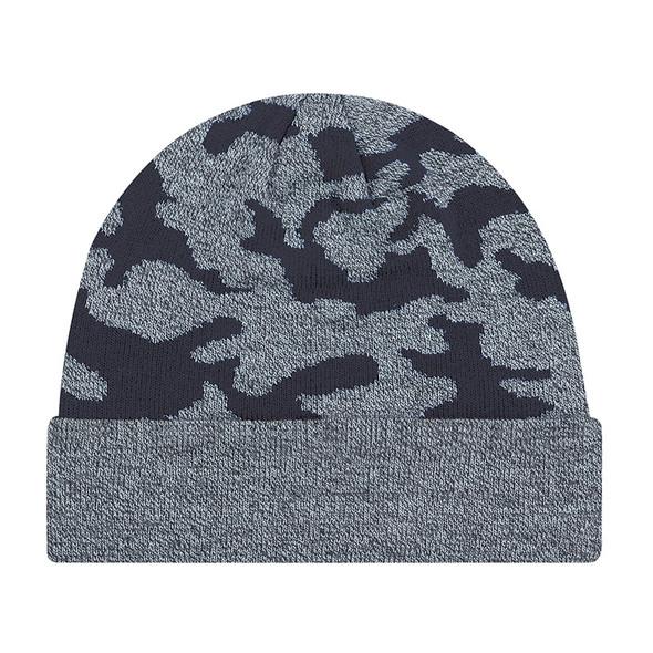 Navy - 9V552M Acrylic Cuff Toque (Urban Camo) | Hats&Caps.ca