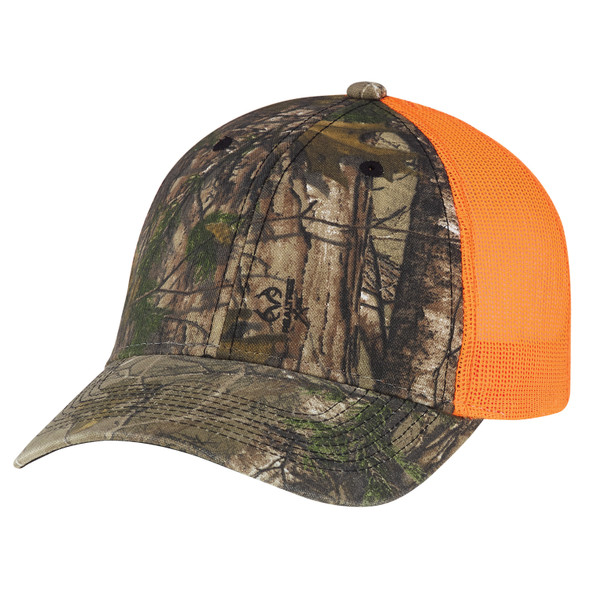 Realtree Xtra®/Fluorescent Orange - 6Y837M Enzyme Washed Realtree Cap | Hats&Caps.ca