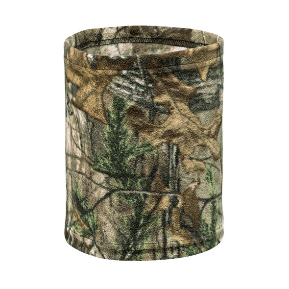 6Z056M Printed Polyester Micro Fleece Realtree Neck Warmer Realtree Xtra