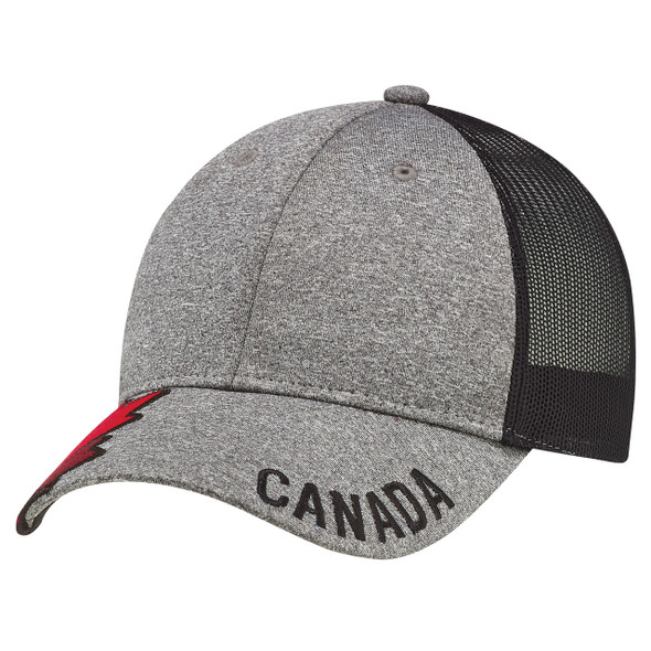 4H337M 6 Panel Constructed Full-Fit Cap | Hats&Caps.ca
