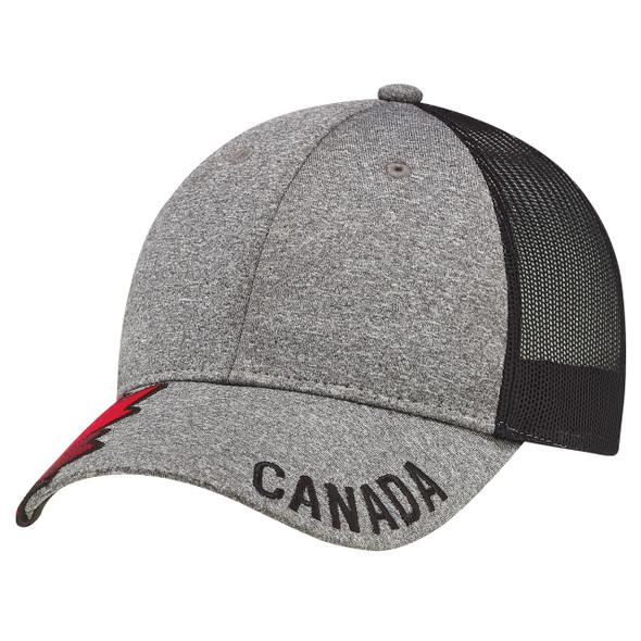 4H337M 6 Panel Constructed Full-Fit Cap   Hats&Caps.ca
