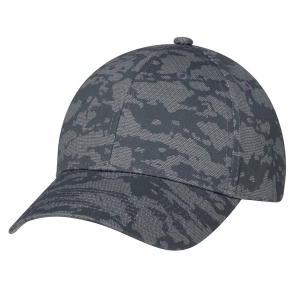 Charcoal - 3J630M 6 Panel Constructed Full-Fit (Urban Camo) | Hats&Caps.ca