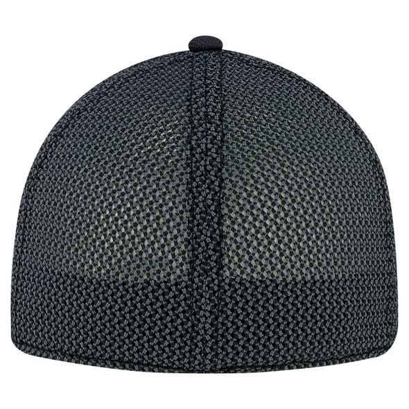 Red/Black/Charcoal, Back - AC5016 6 Panel A-Class Flex Fit Cap | Hats&Caps.ca