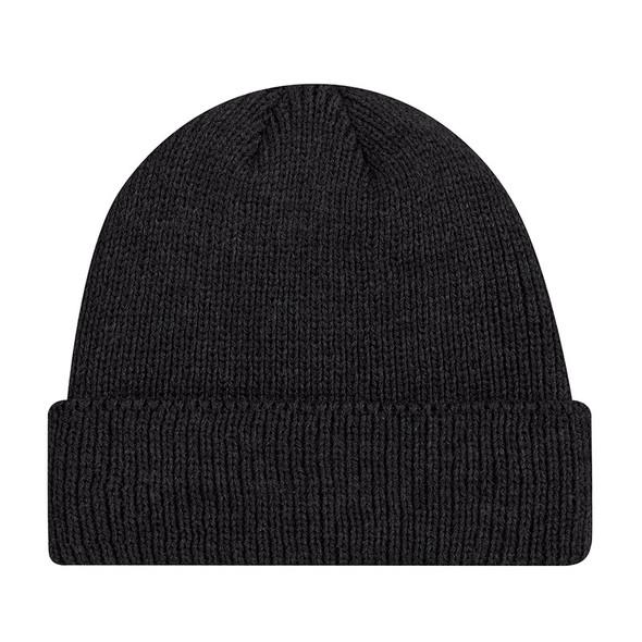 Black - 9D230M Acrylic Cuff Toque | Hats&Caps.ca