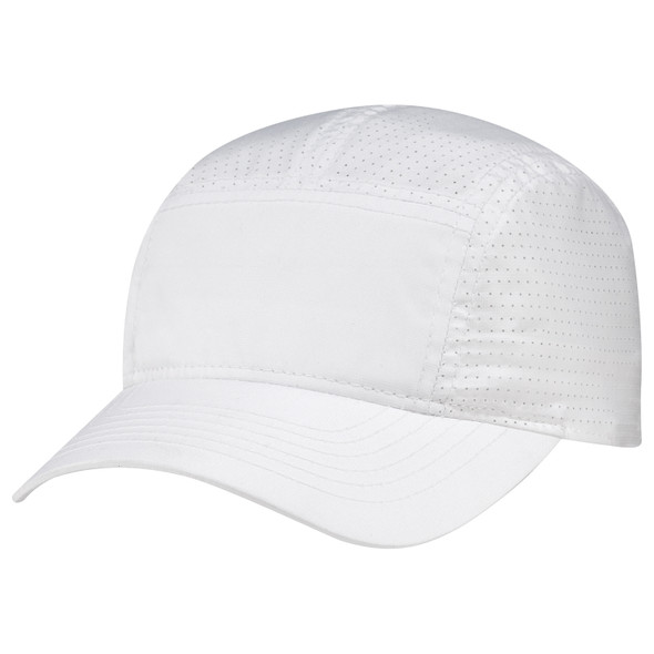 White - B940M Polyester Rip Stop / Polyester Rip Stop Mesh Cap | Hats&Caps.ca