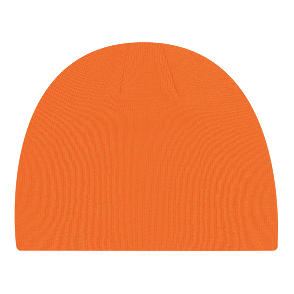 Fluorescent Orange - 0030M Acrylic Board Toque | Hats&Caps.ca