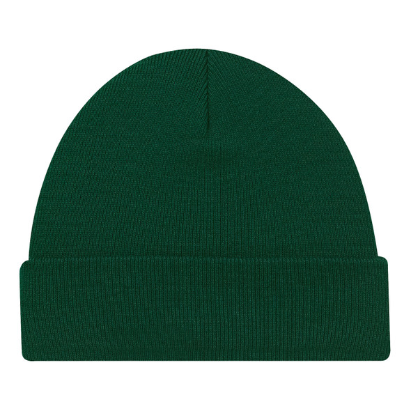 Forest Green - 0530M Acrylic Cuff Toque | Hats&Caps.ca
