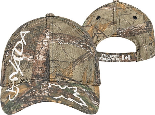 Canada 26 - 6Y633M Canadian Poly/Cotton Camo Full-Fit Cap | Hats&Caps.ca