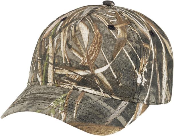 Realtree MAX-5® - 6Y850M Realtree Poly/Cotton Camo Pro-Look Cap | Hats&Caps.ca