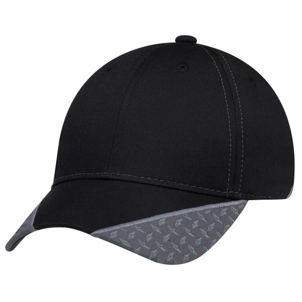5533M 6 Panel Constructed Full-Fit Cap | Hats&Caps.ca