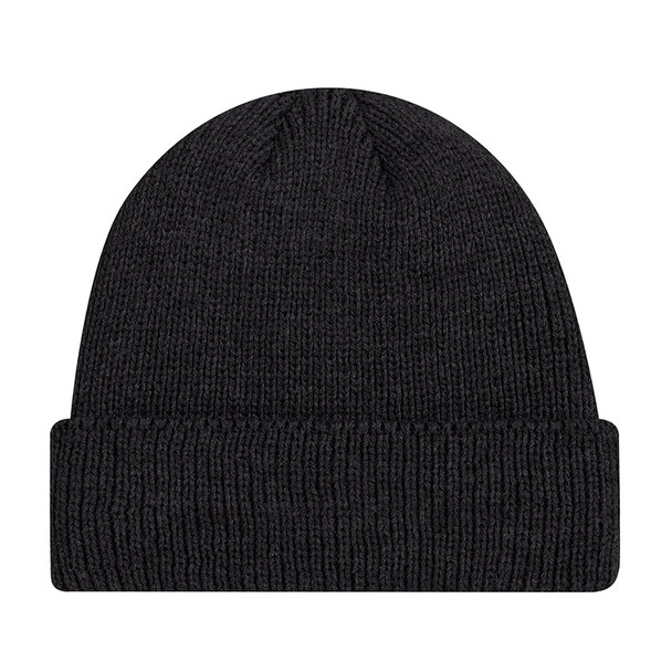 Black - 9D230M Acrylic Cuff Toque   Hats&Caps.ca