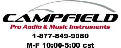 Campfield Pro Audio & Music Instruments