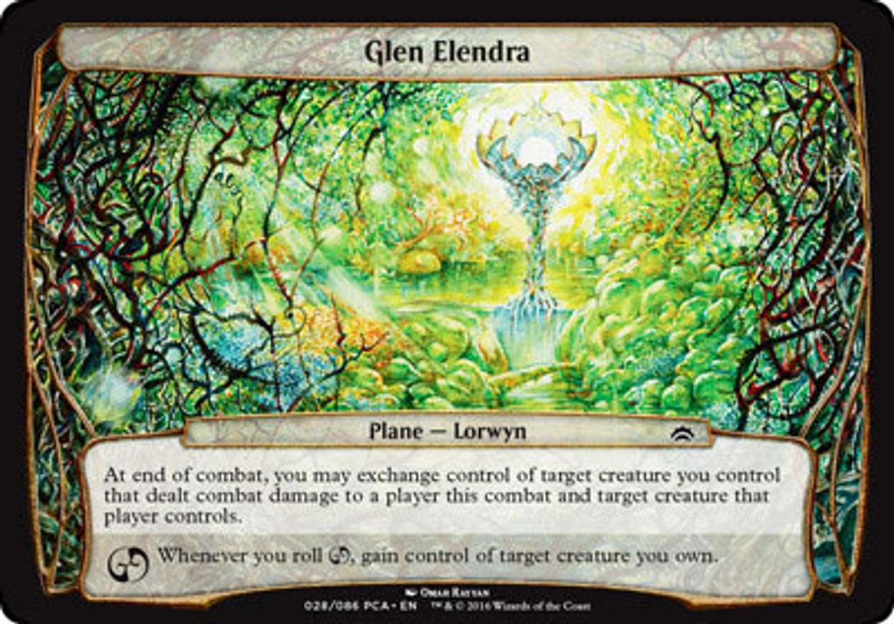 Glen Elendra Liege Planechase Anthology NM-M Blue Black Rare MAGIC CARD ABUGames