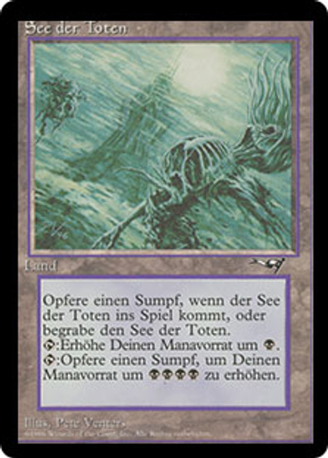 1 PLAYED Lake of the Dead Land Alliances Mtg Magic Rare 1x x1