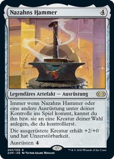 HAMMER OF NAZAHN Double Masters Magic MTG MINT CARD
