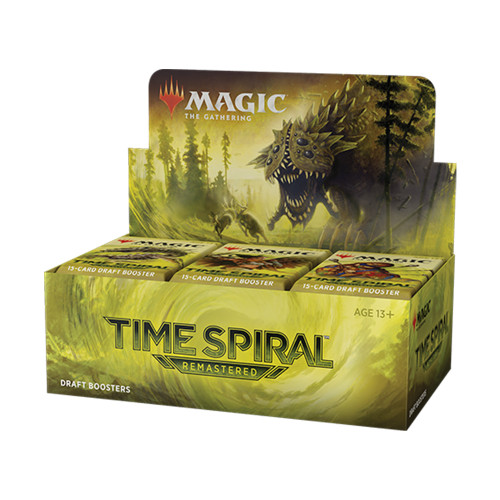 Time Spiral Remastered Draft Booster Box NO Buy A Box Promo