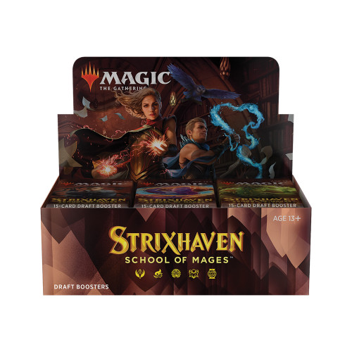 Strixhaven  Draft Booster Box / Available April 23. TAX INCLUDED in Price. No Buy A Box Promo.