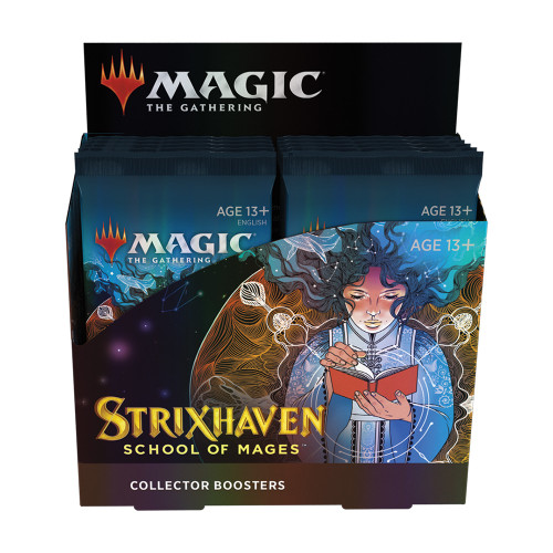 Strixhaven Collector Booster Box / Available April 23. TAX INCLUDED in Price. NO Buy a Box Promo.