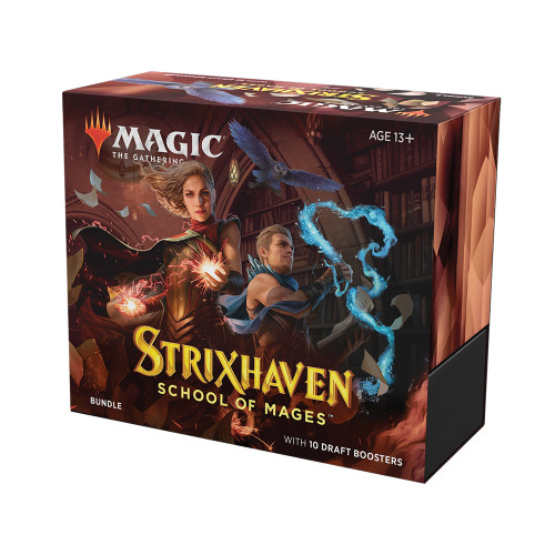 Strixhaven  Bundle / Available April 23. TAX INCLUDED in Price.