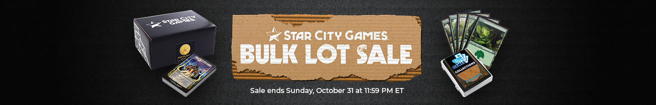 Save Big on Bulk and Collections Now Thru Sunday, October at 31 11:59 PM ET!