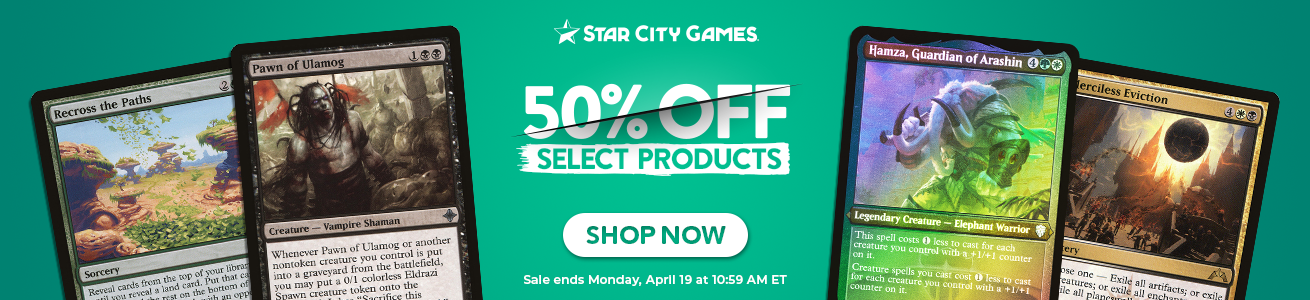 Save Up to 50% on 500+ Items Through Monday!