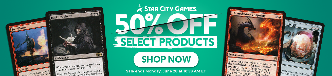 Save Up To 50% On Select Items Through Monday!