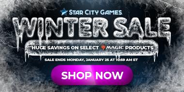 Magic The Gathering Winter Sale!