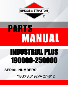 190000 250000 -owners-manual-Briggs-and-Stratton-lawnmowers-parts