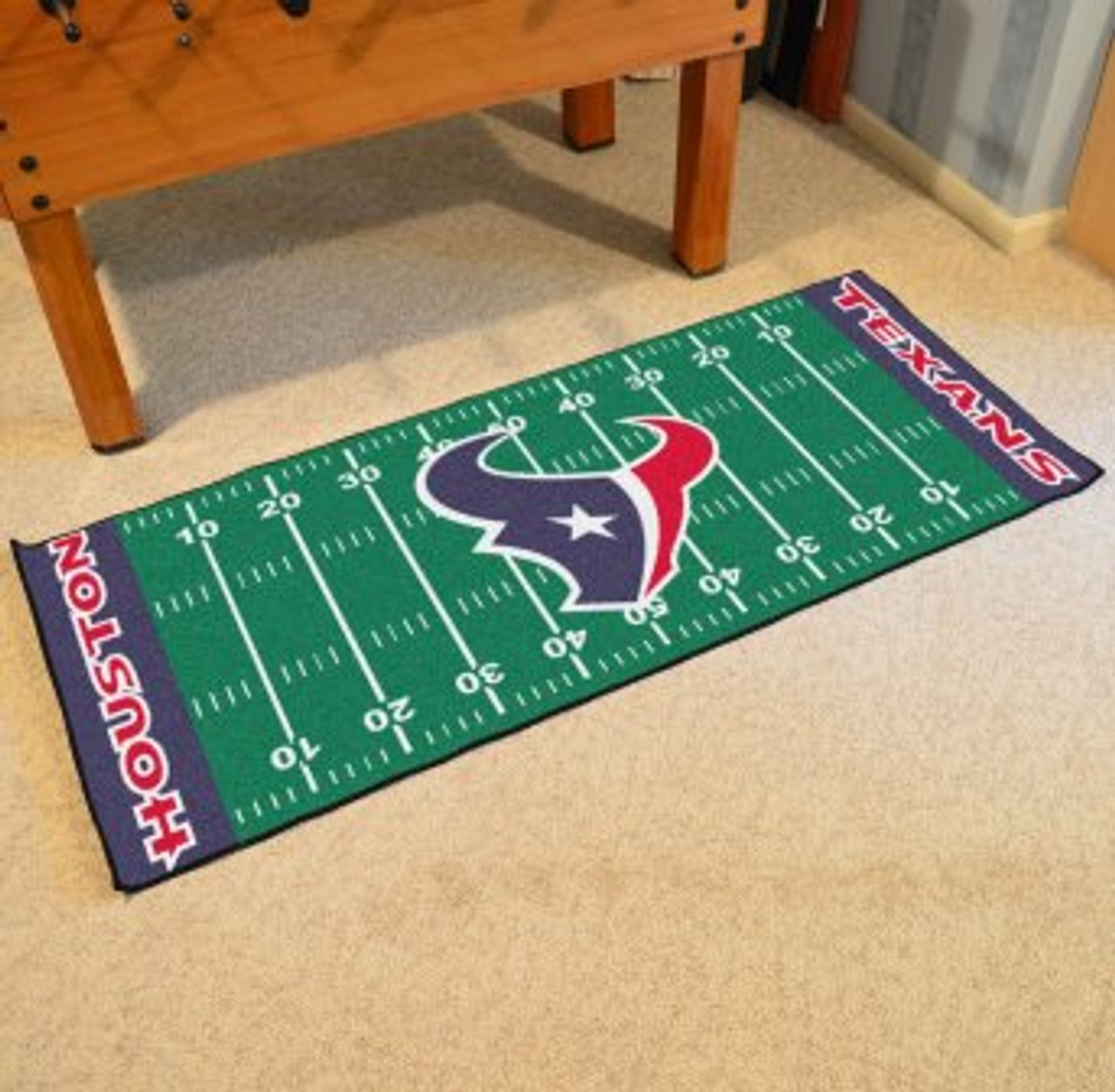0d83bf03 Houston Texans Football Field Runner
