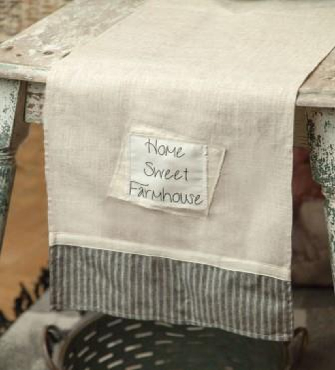 Farm Style Home Sweet Farmhouse Table Runner