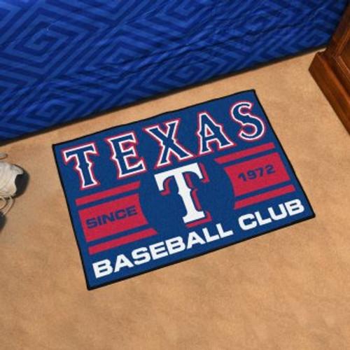 Texas Rangers Baseball Club Starter Mat