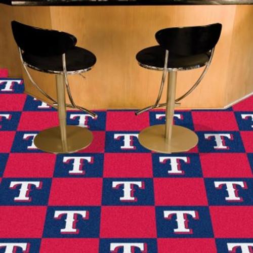 Texas Rangers Team Carpet Tiles