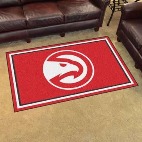 Atlanta Hawks 4x6 Rug