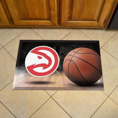 Atlanta Hawks Basketball Scraper Mat