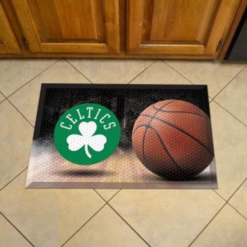 Boston Celtics Basketball Scraper Mat