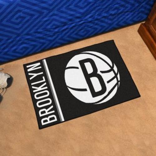 Brooklyn Nets Basketball Custom Starter Mat