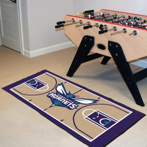 Charlotte Hornets NBA Court Runner