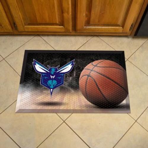 Charlotte Hornets Basketball Scraper Mat
