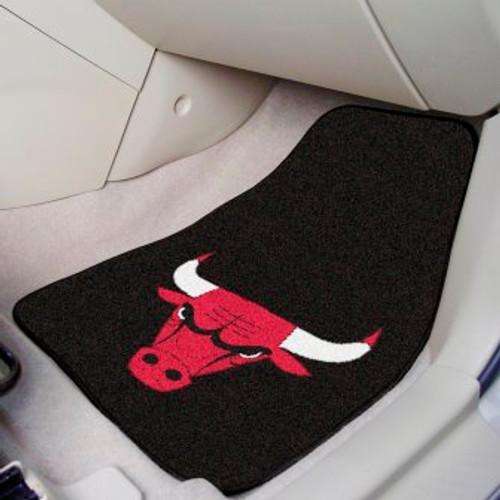 Chicago Bulls Carpet Car Mat Set