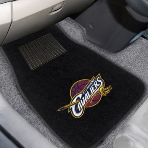 Cleveland Cavaliers Embroidered Car Mat Set