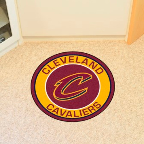 Cleveland Cavaliers Win Roundel Mat
