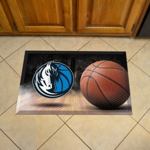 Dallas Mavericks Basketball Scraper Mat