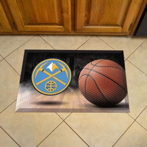 Denver Nuggets Basketball Scraper Mat