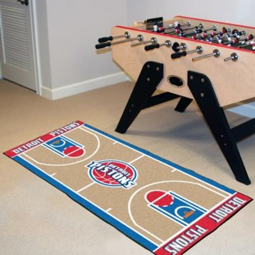 Detroit Pistons NBA Court Runner