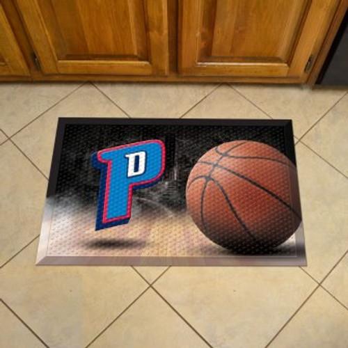 Detroit Pistons Basketball Scraper Mat