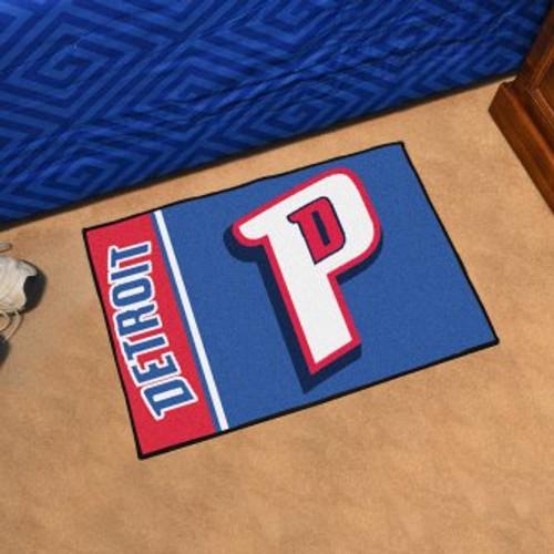 Detroit Pistons Basketball Custom Starter Mat